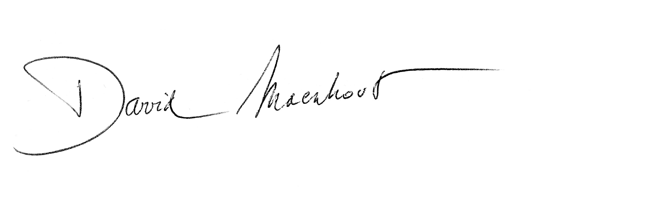 David Maenhout signature