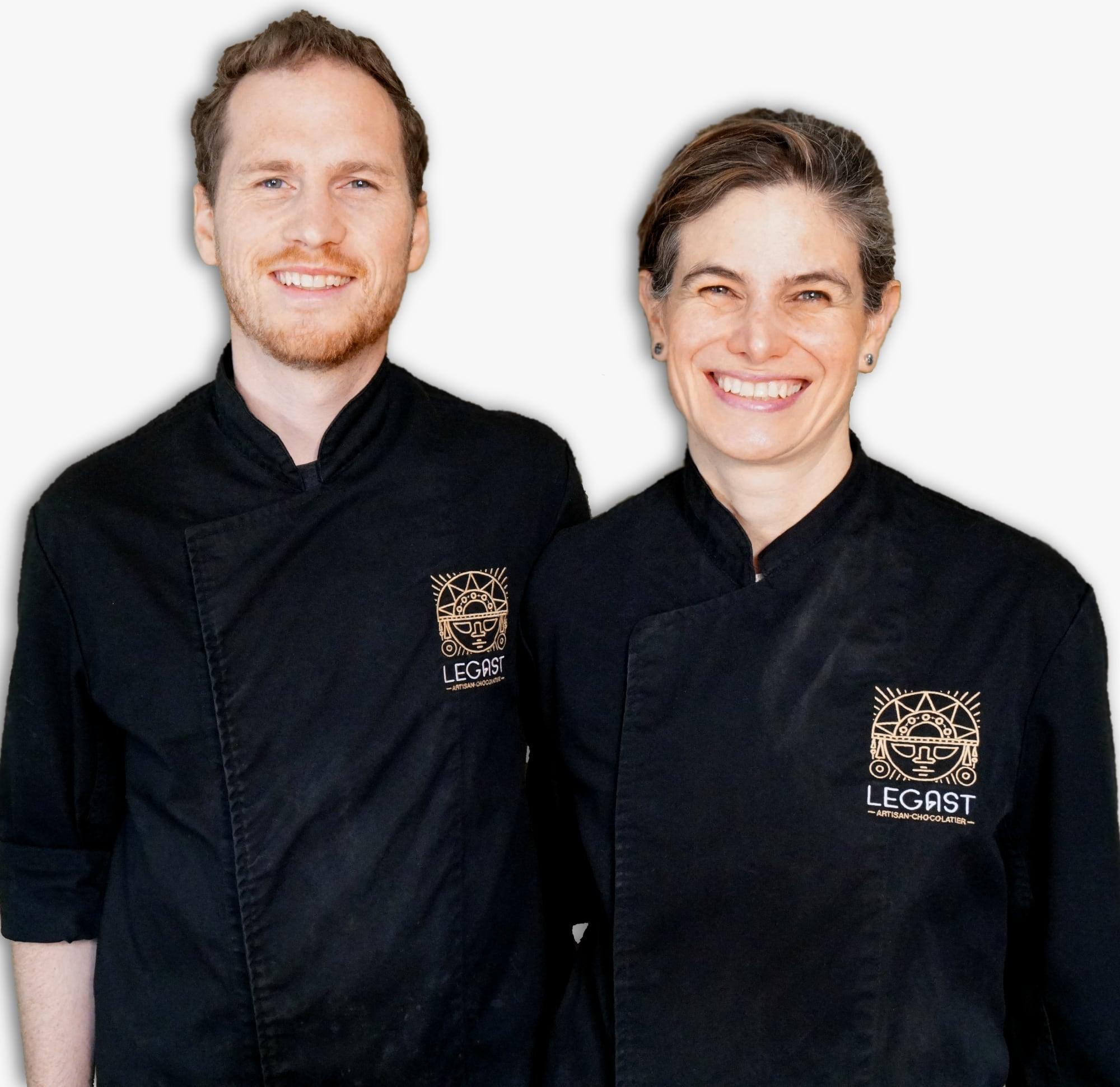 Thibaut Legast and Patricia